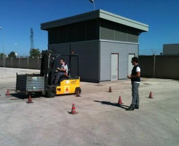 Formazione carrellisti, carroponte e piattaforme aeree Bosch S.p.A. – Bari (BA)